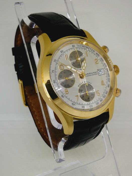 Hamilton - West Point Limited Edition 18K Chrono - 068530 - Herren - 2000-2010