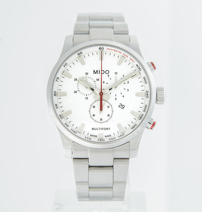 Mido - Multifort II Men's Chronograph - M005.417.11.031.00 - Masculin - 2011-prezent