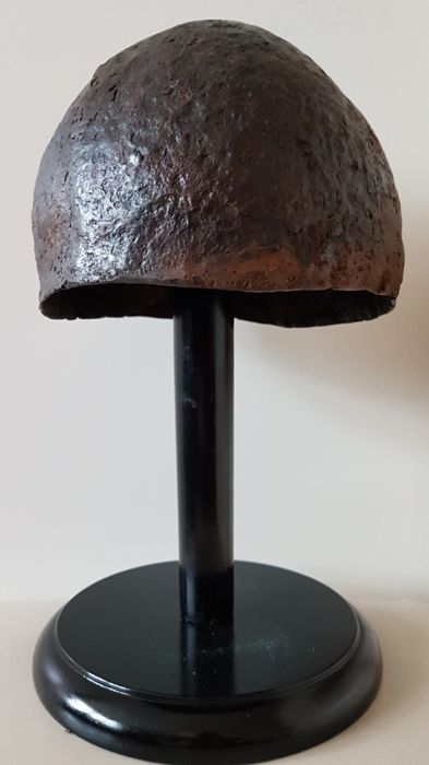 Original Viking helmet from iron in good quality