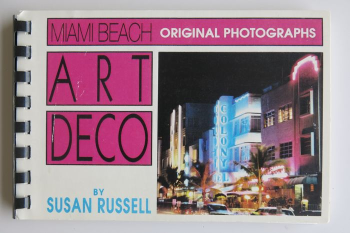 Susan Russell - Art Deco Miami Beach original photographs - 1992