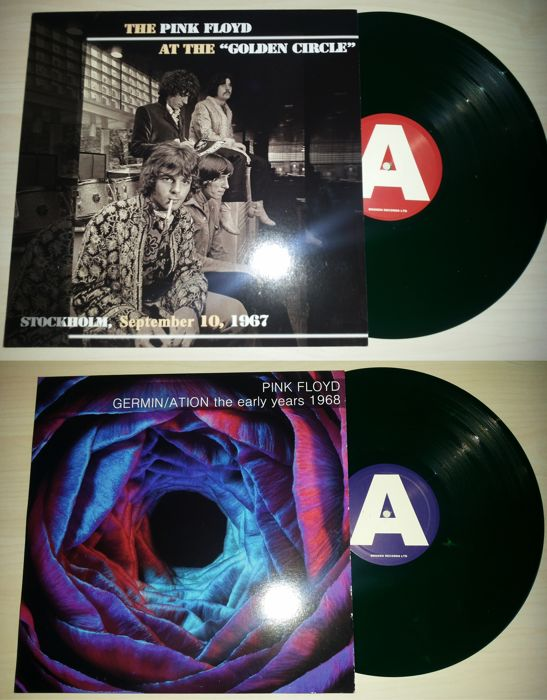 2 Lp Pink Floyd - Golden Circle / Germin / Ation The Early Years 1968 - Green Vinyl