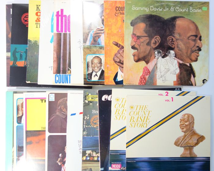 Count Basie ; Lot with 20 LP albums