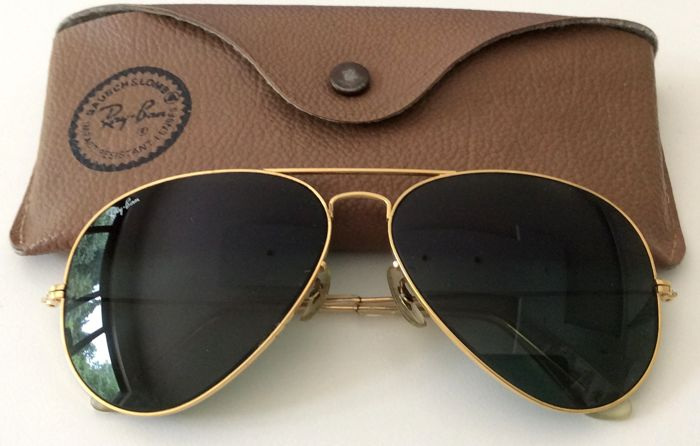 f57be8a98a Ray-Ban - Aviator 62-14 Glasses - Vintage - Catawiki