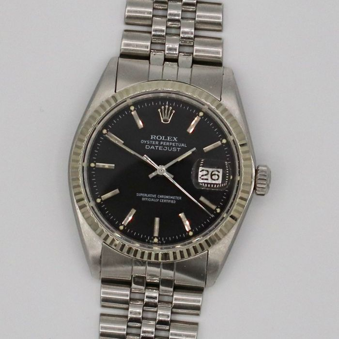 Rolex -  Oyster Perpetual Datejust - 1601 - Unisex - 1970-1979