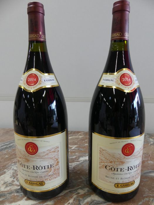 2014 E Guigal Cote Rotie Brune et Blonde - 2 magnums