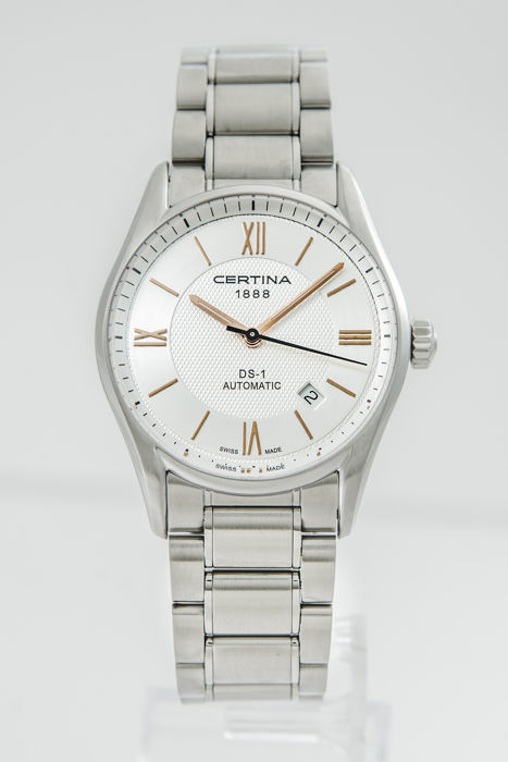 Certina - DS 1 Men's Automatic Silver Dial - C006.407.11.038.01 - Hombre - 2011 - actualidad