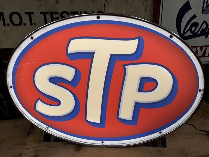 Bewegwijzering - STP Racing Garage Classic Advertising Nascar Lamp  - 1 (1 items)