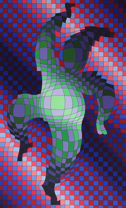 Victor Vasarely - Arlequin