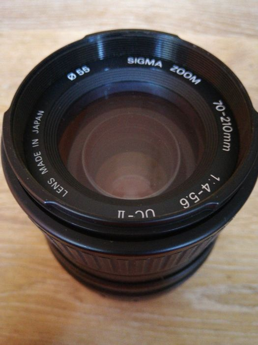 SIGMA for CANON 70-210 zoom 1:4-5.6 uc-II lens
