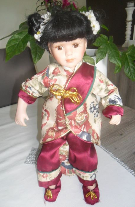A cloth doll - Asia/Taiwan - second half 20th century