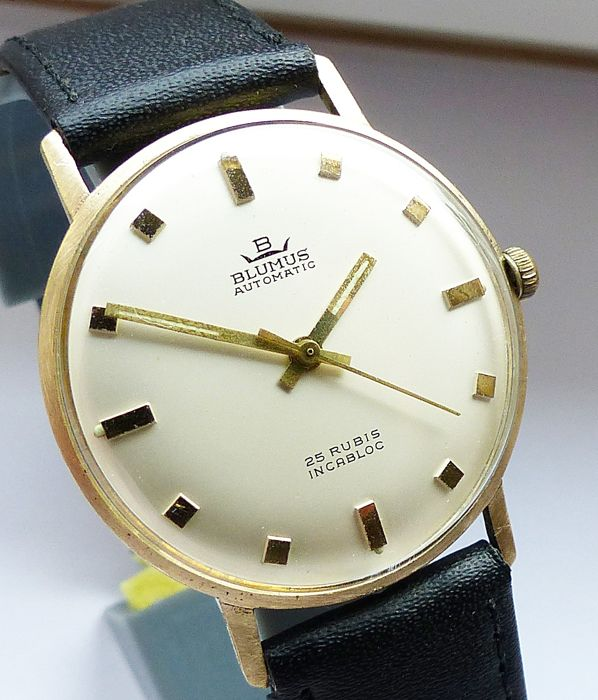 Blumus - Automatic Slim-Line 25Jewels - Homme - 1960-1969