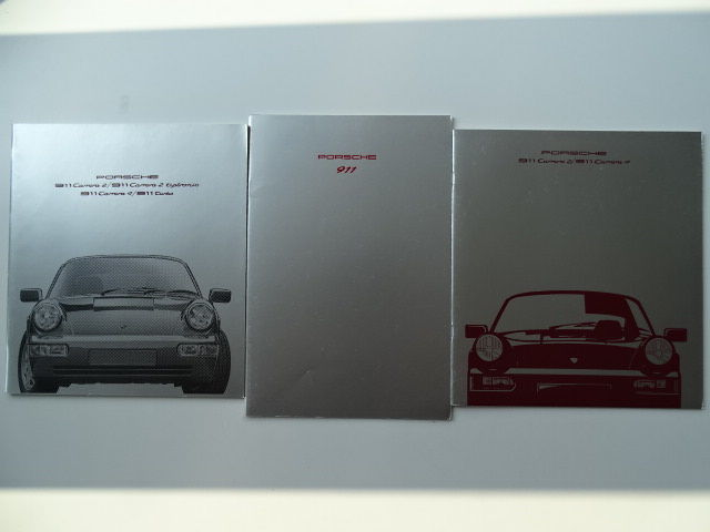 Brochures  Catalogues - PORSCHE 911 Carrera 2   Carrera 4   Turbo - 1990- 09c0092bc6f1