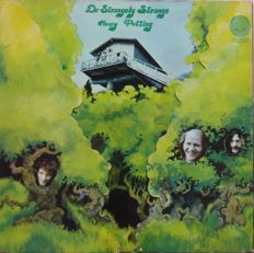 "Very rare original copy of cultband DR. STRANGELY STRANGE ""Heavy Petting"" (Vertigo Swirl, 6360 009, 1970, Germany) in complete fold-out cover"