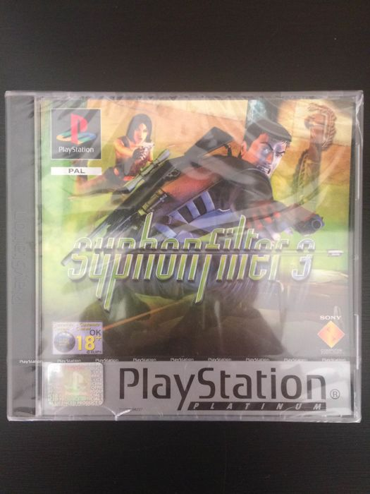 Syphon Filter 3 PlayStation 1 NEW