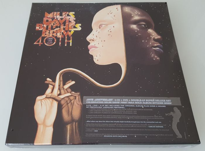 Miles Davis ‎– Bitches Brew  3 x CD + 2xLP + DVD Super Deluxe Box Set US Import (40 Anniversary Collector's Edition) / mint, Sealed