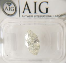 2.02 ct Marquise cut diamond I SI2