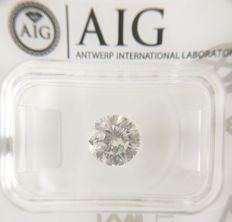 1.50 ct Round cut diamond G SI2