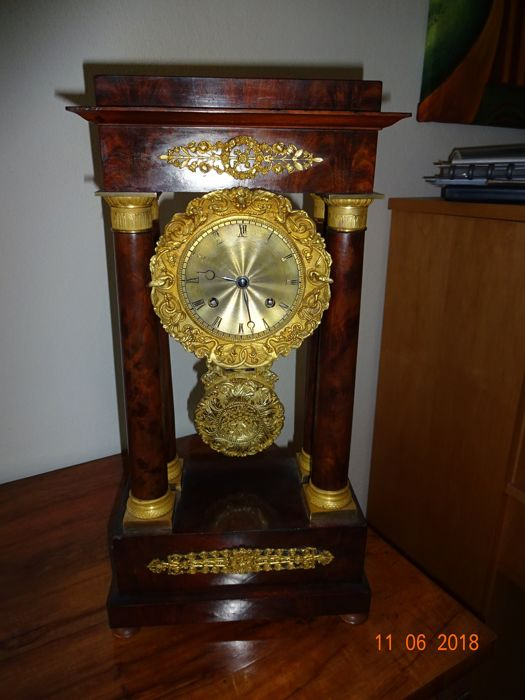 French pendulum clock Louis Philippe - approx. 1840