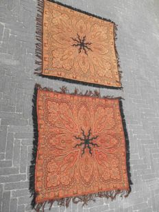 Root cloth 2 pieces with classic colour on 2 sides