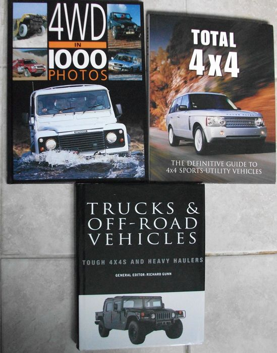 books 4x4 off road vehicles 1950 1999 3 items catawiki. Black Bedroom Furniture Sets. Home Design Ideas