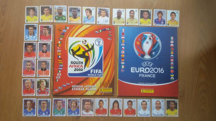 a09bb4bf0 Panini - WM 2010 South Africa + Euro 2016 - Complete album (2010 ...
