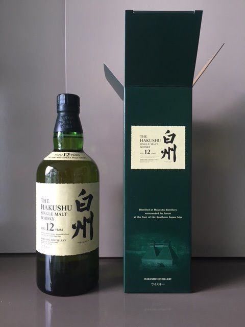 Hakushu 12 years old (Suntory)