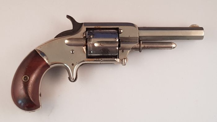 Antique rimfire revolver Whitneyville model 2