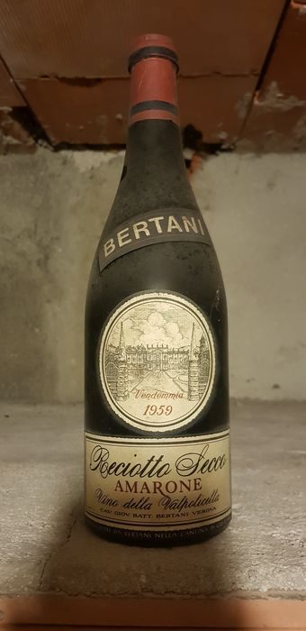 1959 Amarone Bertani - 1 bottle(72cl)