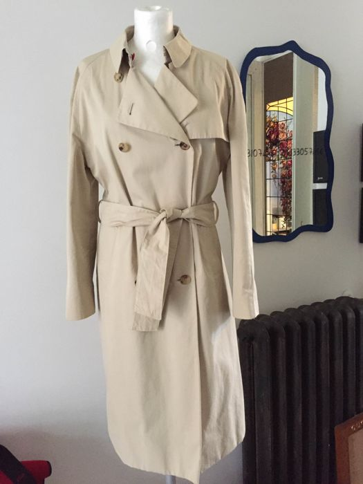 factory authentic ddc25 12c6f Burberry - Trench donna con fodera in pura lana, taglia UK 12 - Catawiki