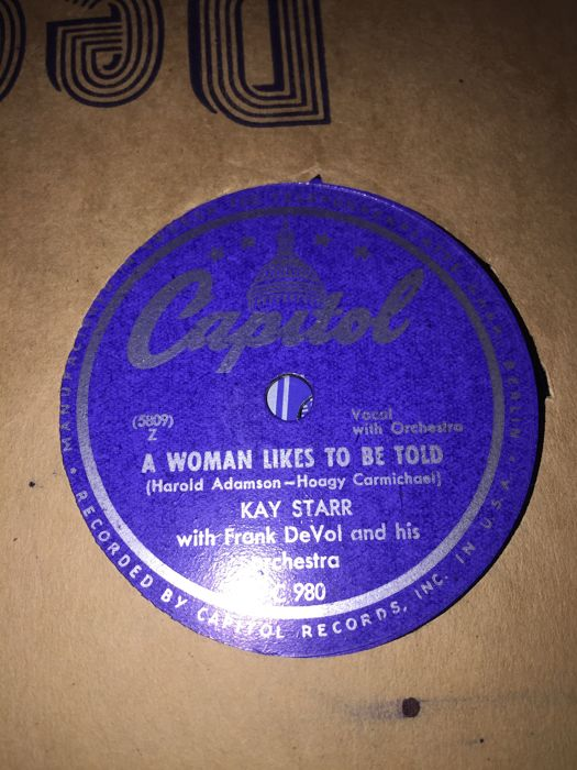 NICE COLLECTION 78 rpm gramophone records
