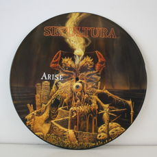 Metal and Hard Rock: Lot of 1 Limited Edition Picture Vinyl and 7 Lp Albums By Sepultura ,Antrax, S.O.D. and Others