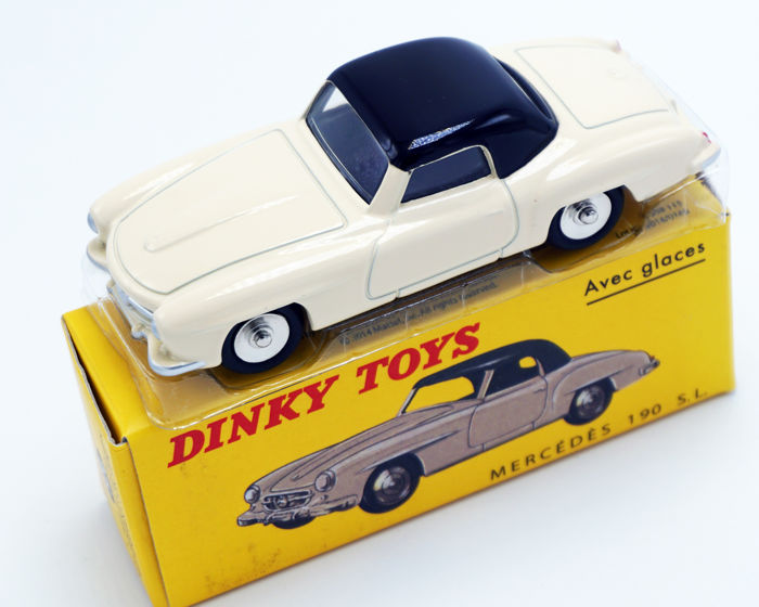 Dinky Toys - 1:43 -  No.526 Mercedes Benz 190 S.L.  - French Dinky No.526