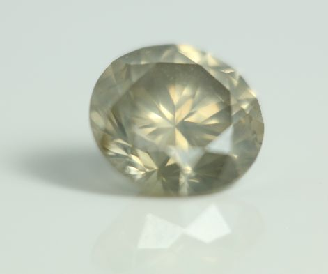 1.39 Carats Natural Diamond  Fancy Greenish Yellow VS2