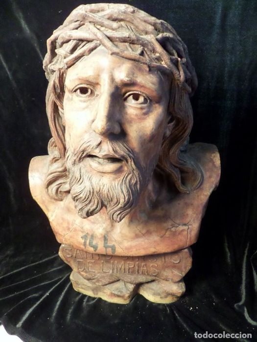 Bust of Holy Christ of Limpias