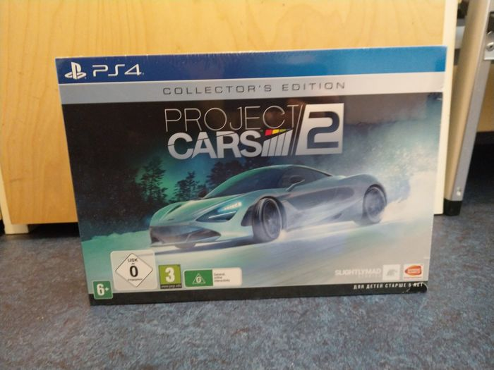 PS4 - Project Cars 2 Collectors Edition