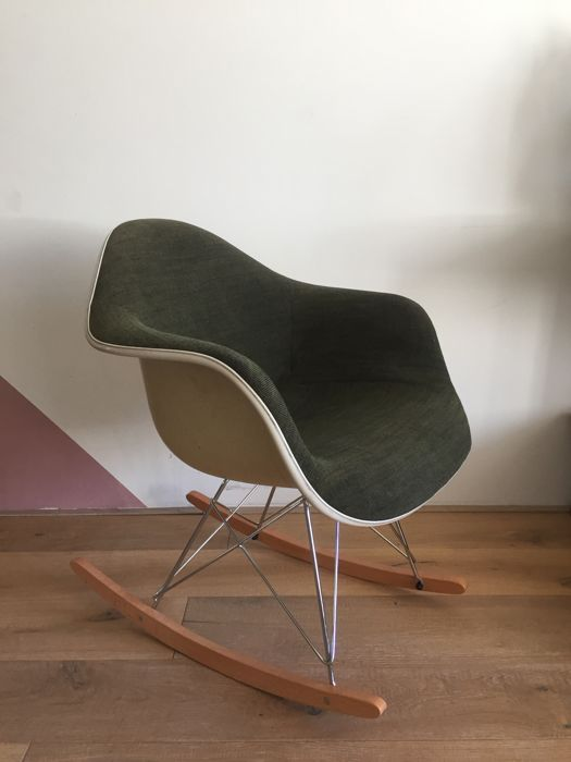 Charles U0026 Ray Eames For Herman Miller   Rocker Chair RAR Fibreglass