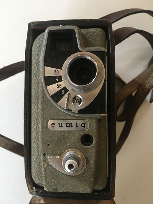 EUMING ELECTRIC CAMERA 1954