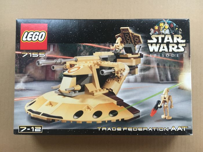 Star Wars 7155 7184 Aat Mtt Trade Federation Set Catawiki