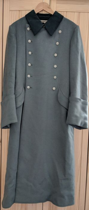 Original Wehrmacht Artillery Officer's M35 Greatcoat (Mantel) - Heer WW2 German Army Uniform