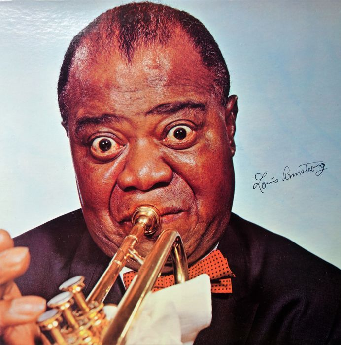 Louis Armstrong - Lot with 20 albums