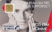 Phone cards - France Telecom - Biotherm Homme
