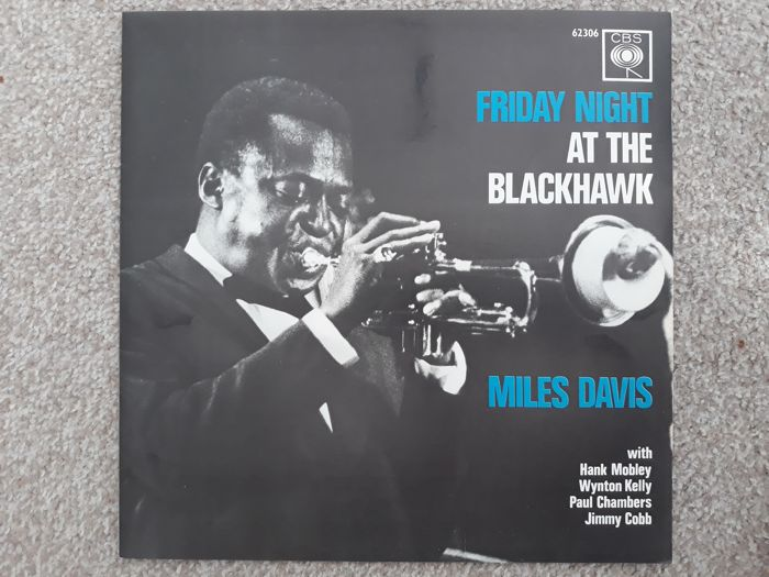 Miles Davis ‎– Friday Night At The Blackhawk - Dutch press