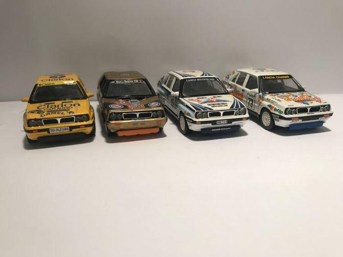 Vitesse - 1:43 - Lot with 4 Lancia Delta Inegrale - Gemaakt in Portugal