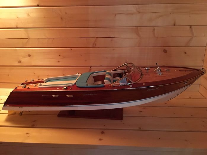 65cm , Scale boat model - Wood - 21 century