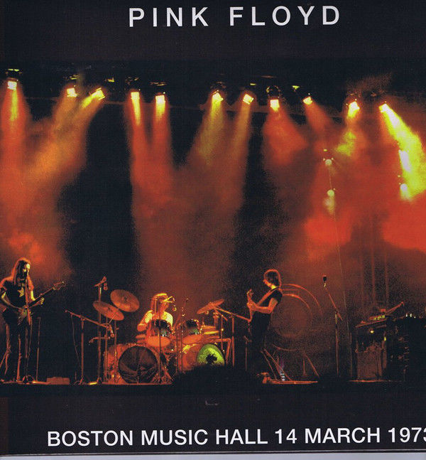 "Lot of  Pink Floyd - "" Boston Music Hall 14 March 1973 "" - 3 Lp's Limited Edition"