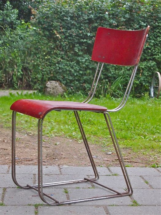 Waals Dordt - Steel wire chair