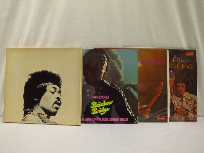Jimi Hendrix - lot of 4 albums including 2 double albums