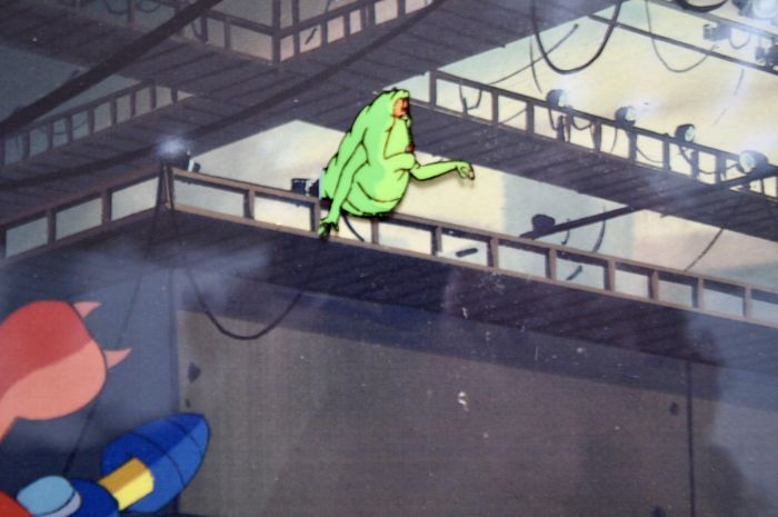 The Real Ghostbusters - Original Animation- & Productioncel - Slimer - Loose page - Other