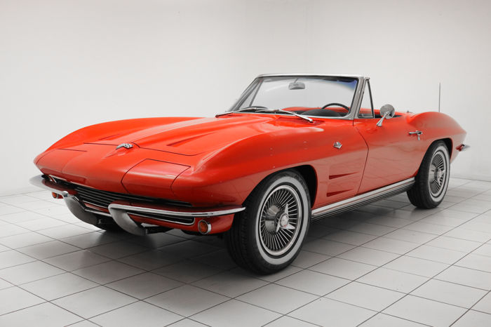 Corvette - C2 Sting Ray Convertible * Matching Numbers * - 1964