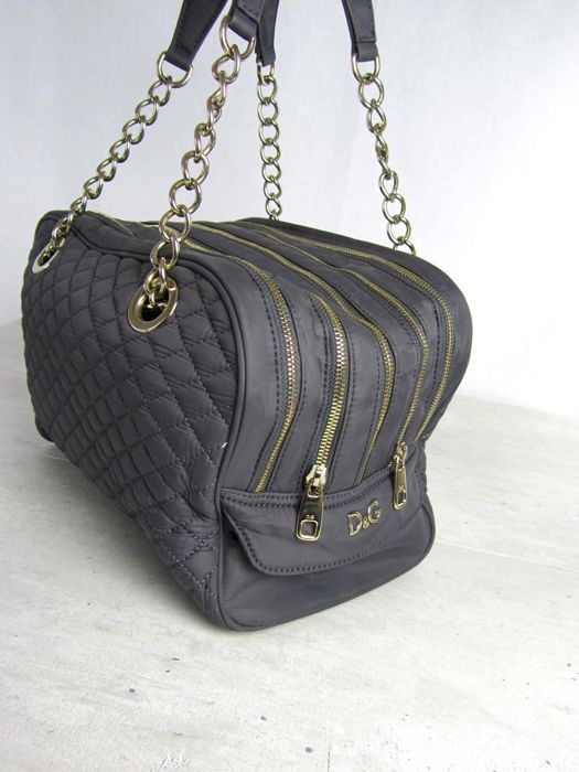 96c5047539e3 D G - Lily Glam Bag - Quitled Titanium Edition - Catawiki